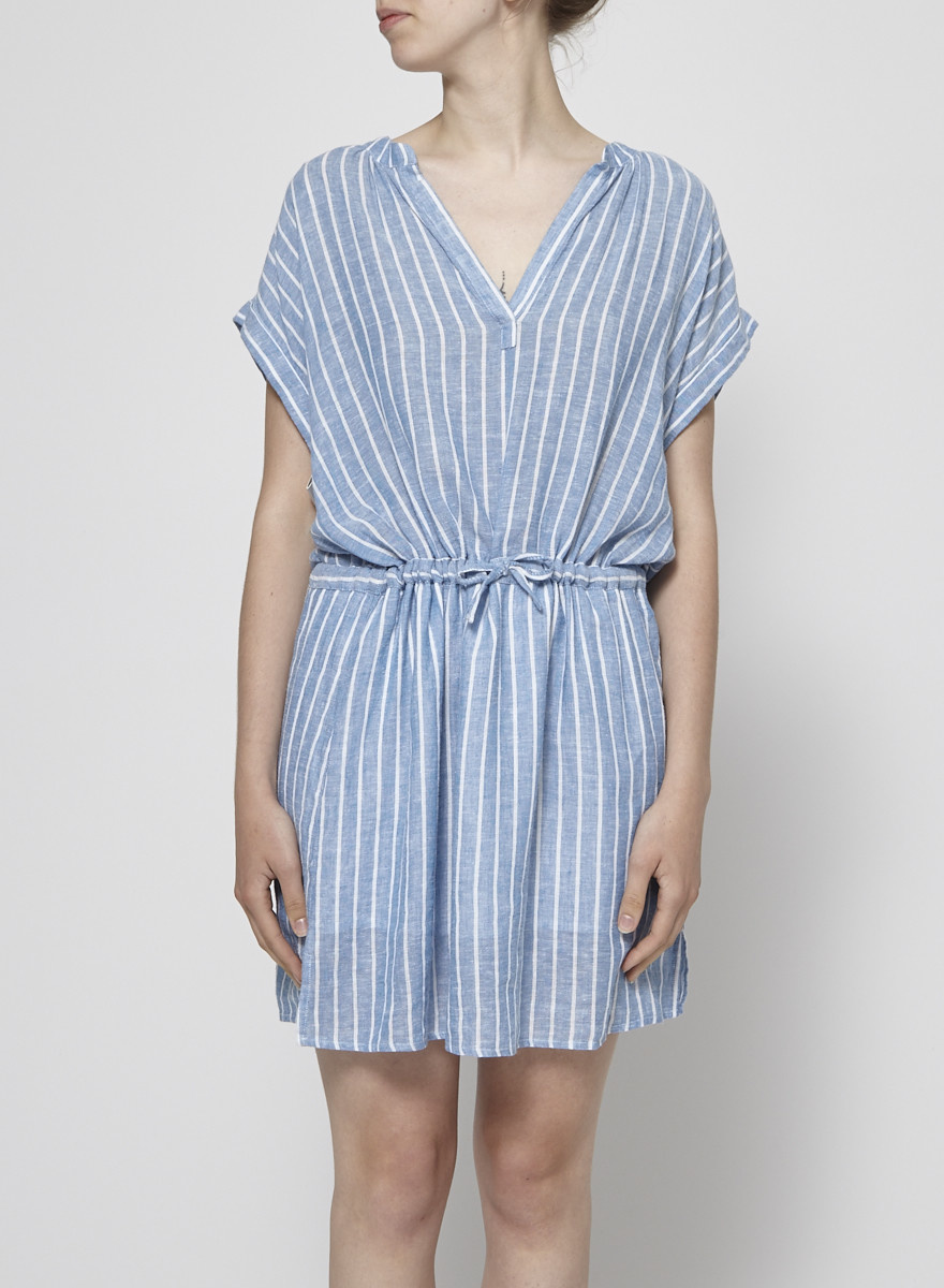 Rails Belted Striped Dress - New