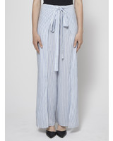 Elan STRIPED PANTS WITH SLIPS - NEW WITH TAG