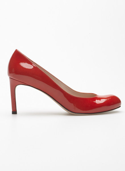 Stuart Weitzman RED PATENT LEATHER SHOES