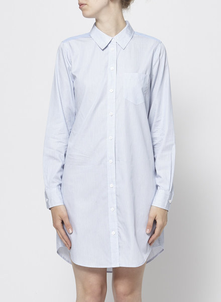 Equipment ON SALE - BLUE & WHITE STRIPED SHIRT DRESS