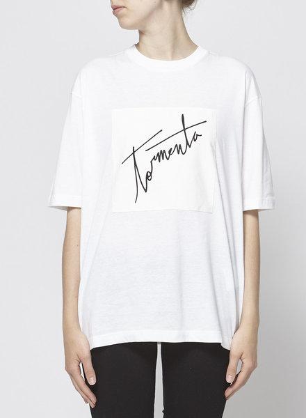 Prada TORMENTA WHITE T-SHIRT - NEW WITH TAG