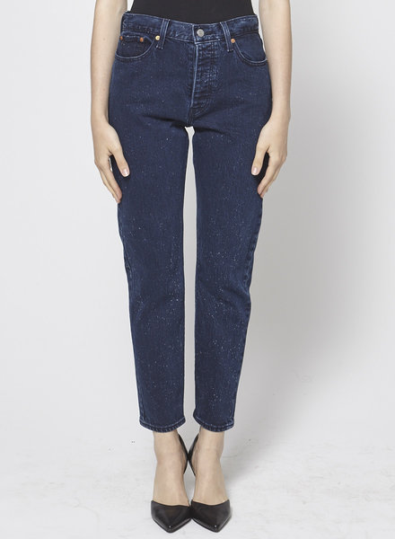 Levi's JEANS DARK BLUE RIGHT SPECKLED WHITE