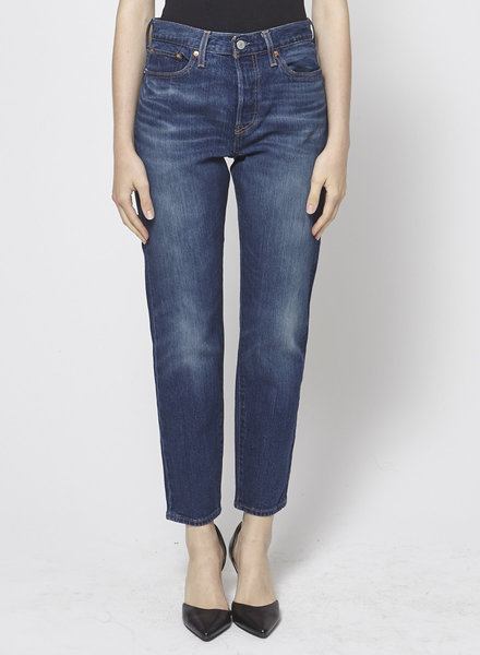 Levi's WASHED BLUE JEANS
