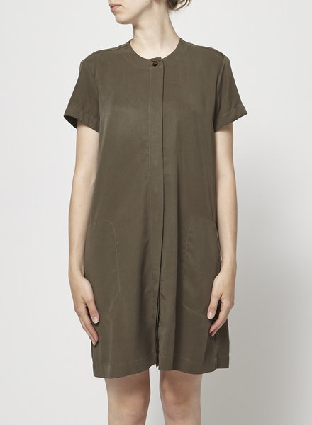 Betina Lou KHAKI  LOOSE DRESS