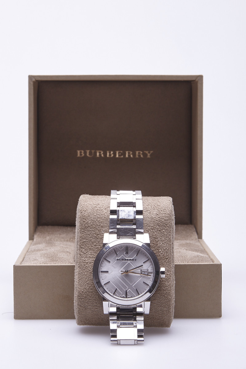 Burberry City Silver Watch