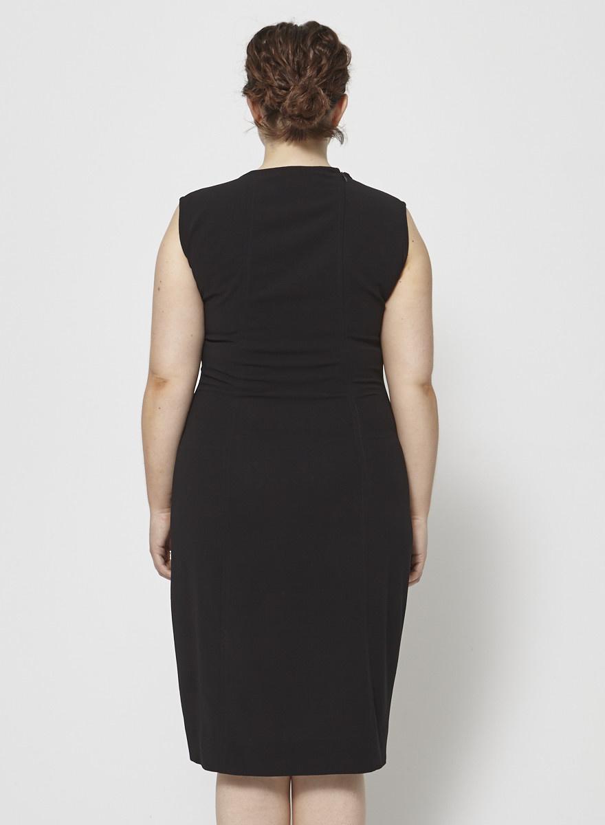 Donna Karan Robe noire sans manches