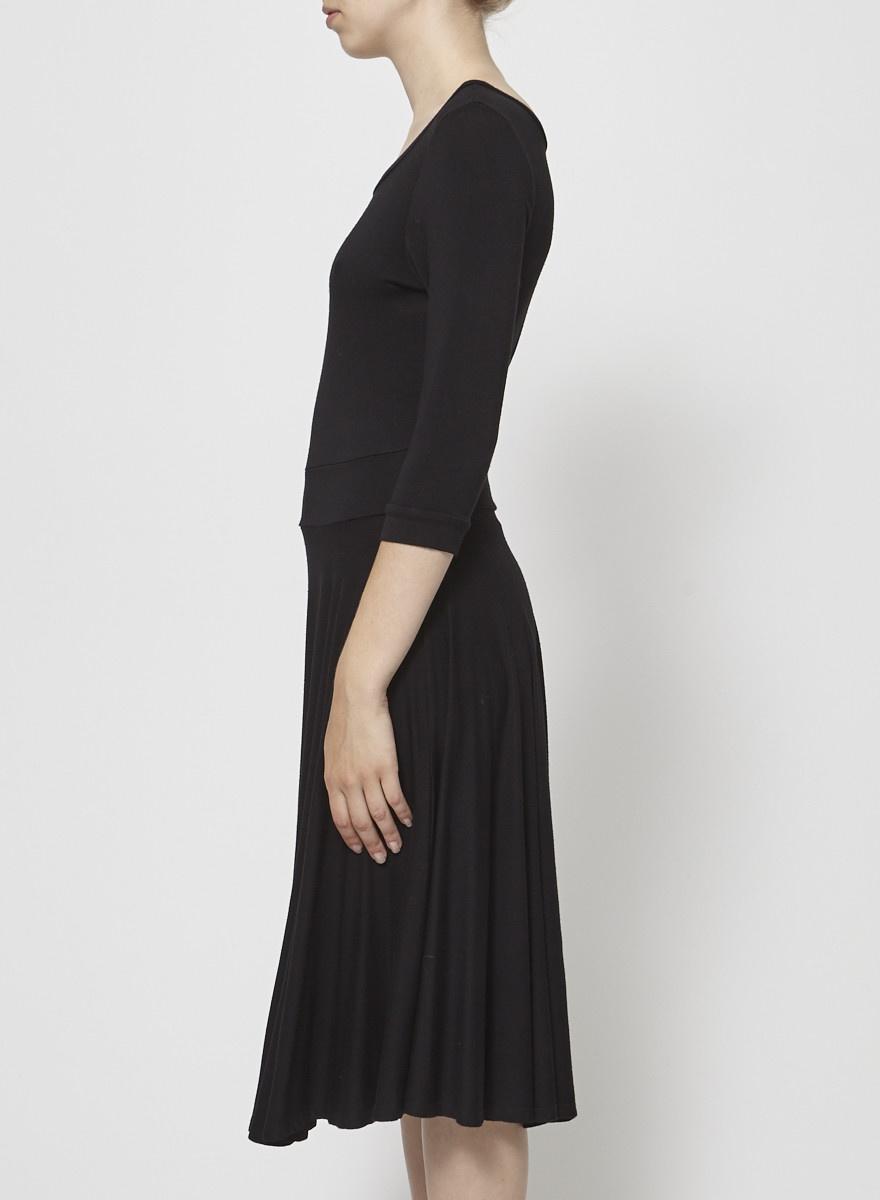 Francois Beauregard Long Black Dress