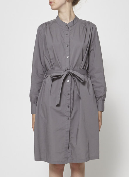 Francois Beauregard LONG SLEEVES GRAY SHIRT DRESS