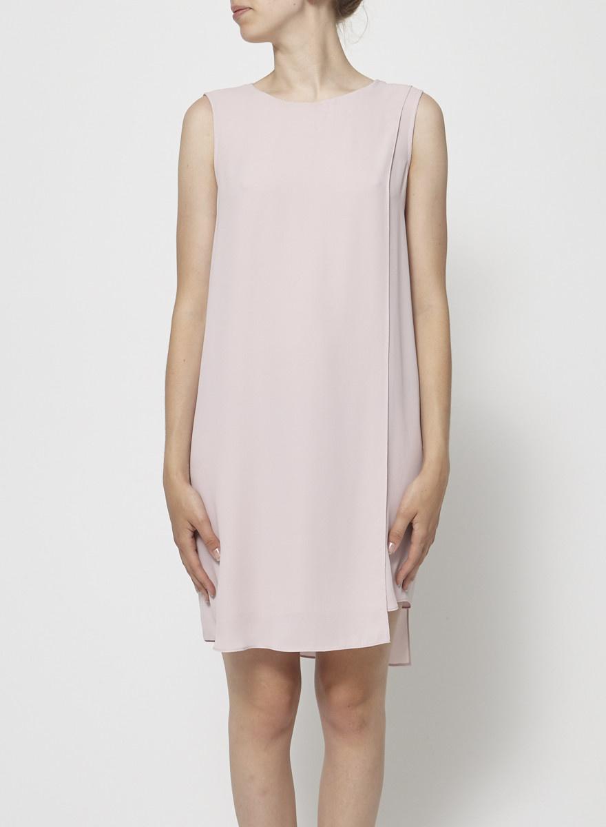BCBG Max Azria Pale Pink Sleeveless Dress