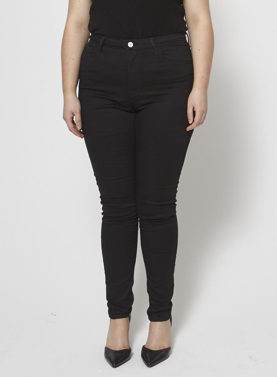 Levi's Black High Waist Skinny Jeans