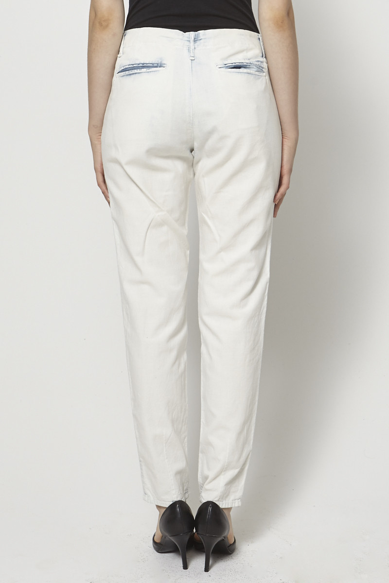 community Washed-Effect Cotton Pants
