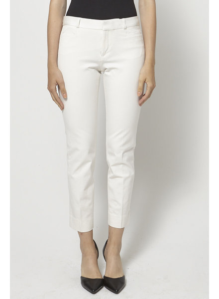 Banana Republic WHITE TAILORED PANTS
