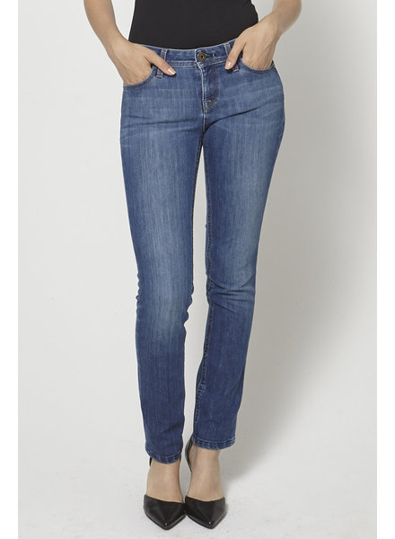 DL1961 SLIGHTLY WASHED STRAIGHT-LEG JEANS