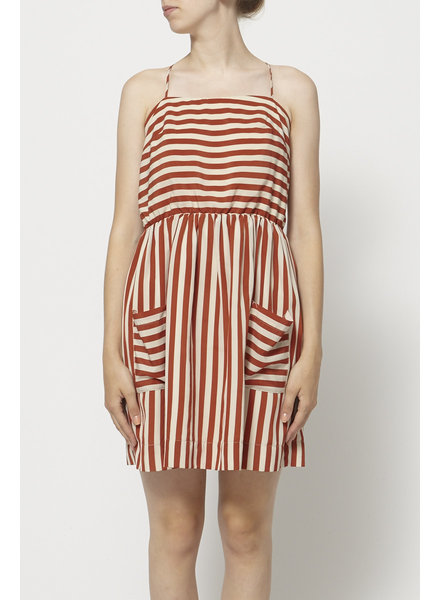 Betina Lou STRIPED STRAPPY DRESS
