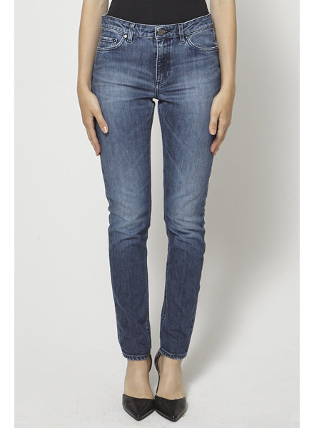 Acne Studios ON SALE - SLIGHTLY FADED HIGH-RISE JEANS