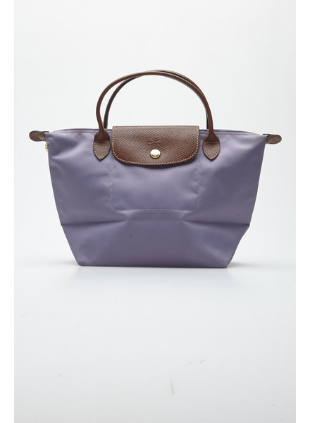 Longchamp 'LE PLIAGE' LILAC NYLON SMALL BAG