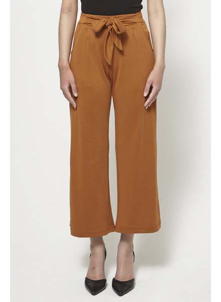 Heartloom OCHRE JERSEY HIGH-WAISTED PANTS - NEW