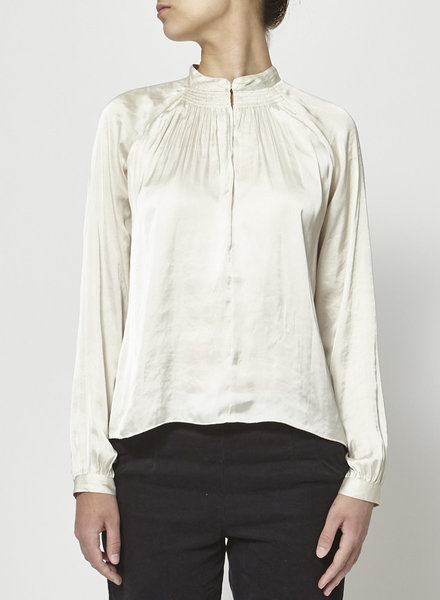 Wilfred CREAM SATIN BLOUSE