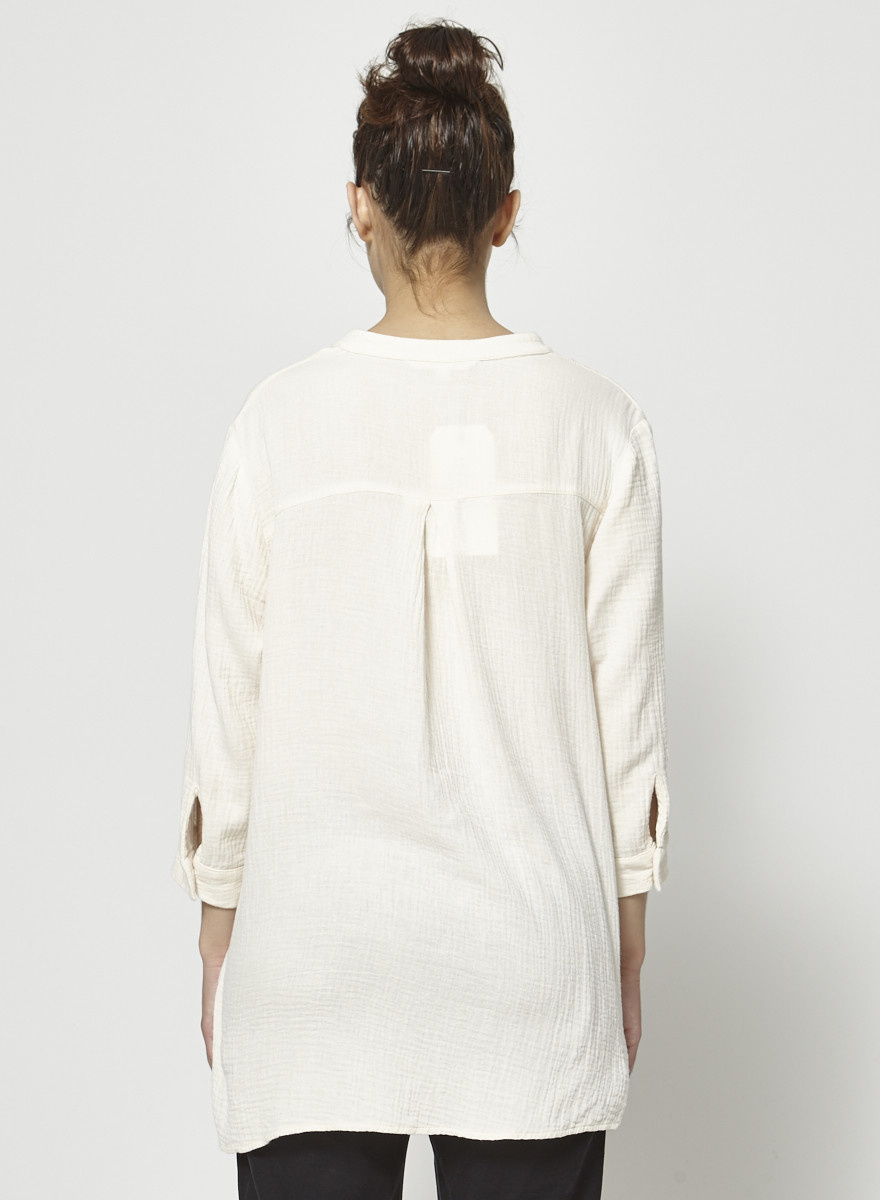Dagg & Stacey Off-White Cotton Tunic