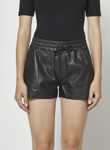 Sézane LEATHER SHORT
