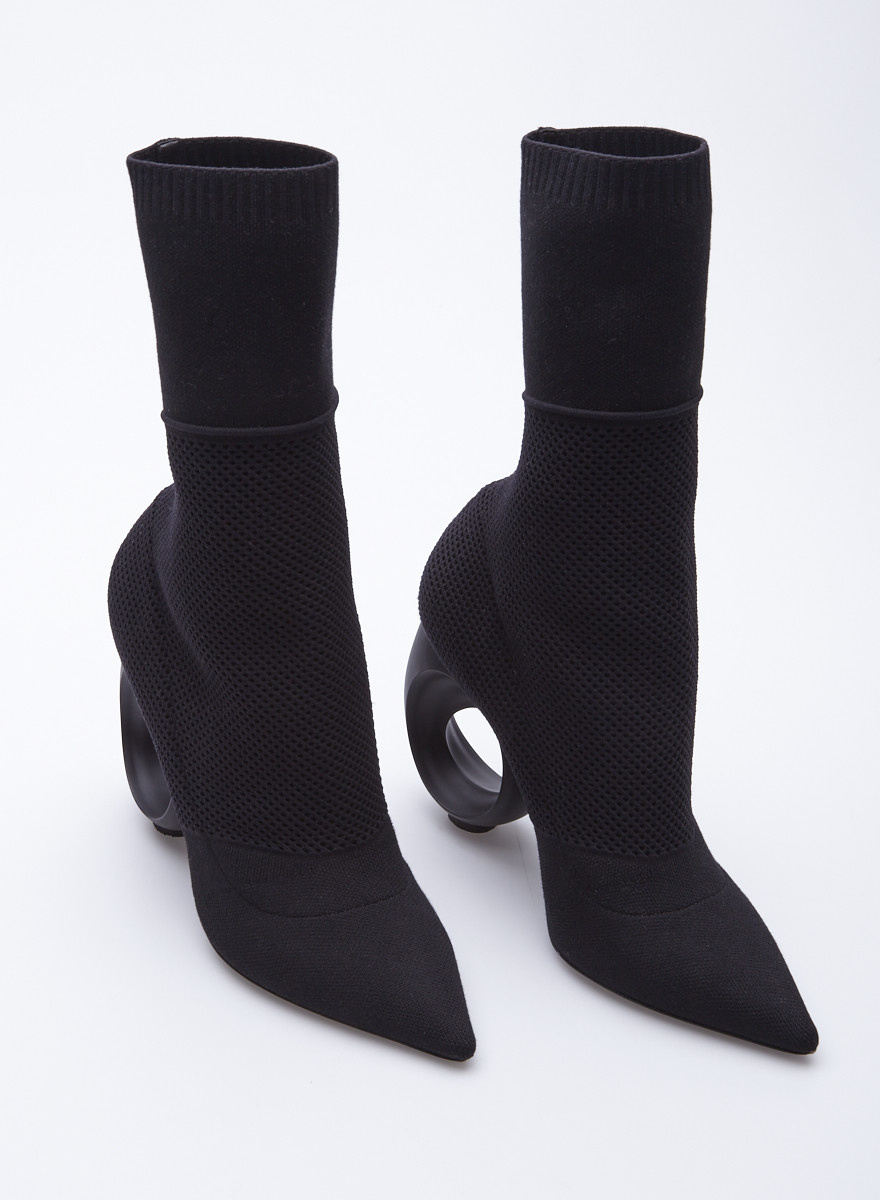 Burberry 'Kimberley' Stretch-Knit Sock Boots