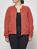 Marc by Marc Jacobs Coral Embroidered Bomber Jacket