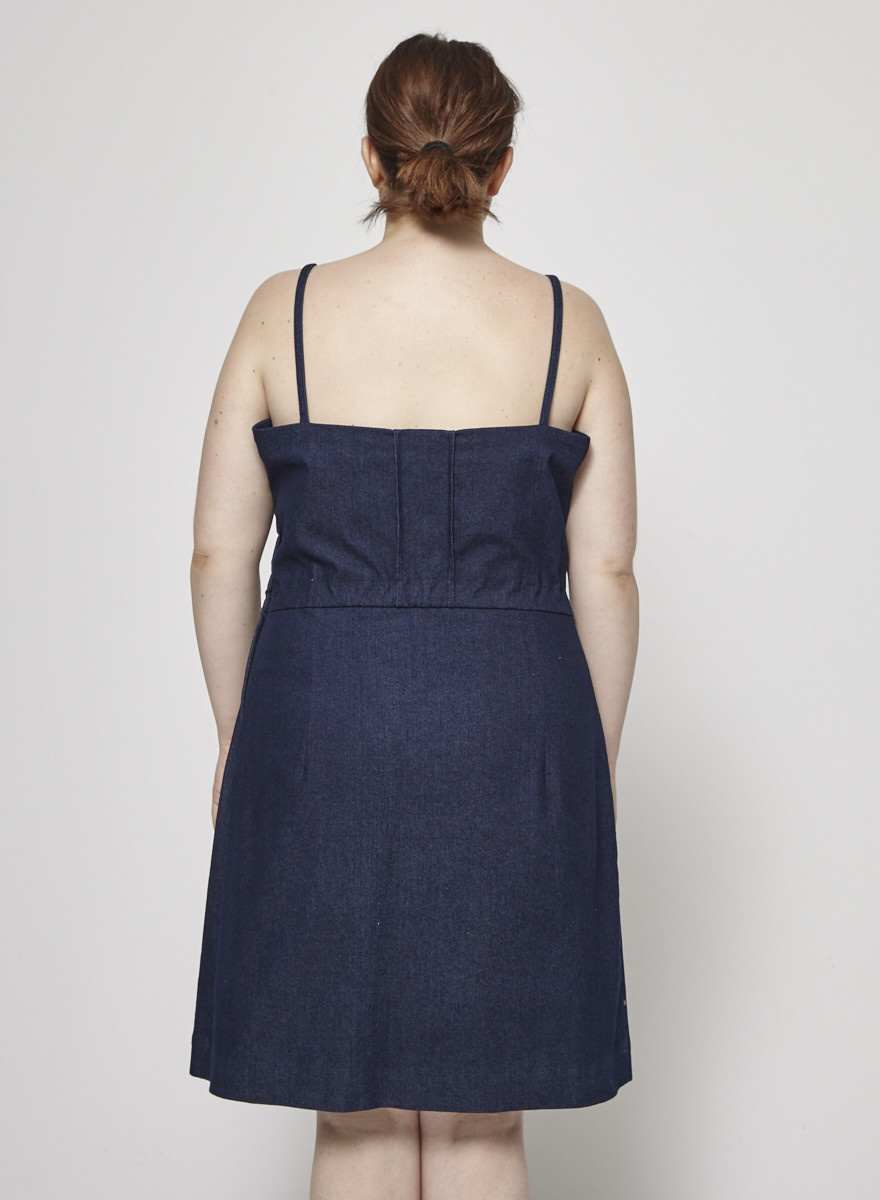 Betina Lou Denim Strappy Dress - New