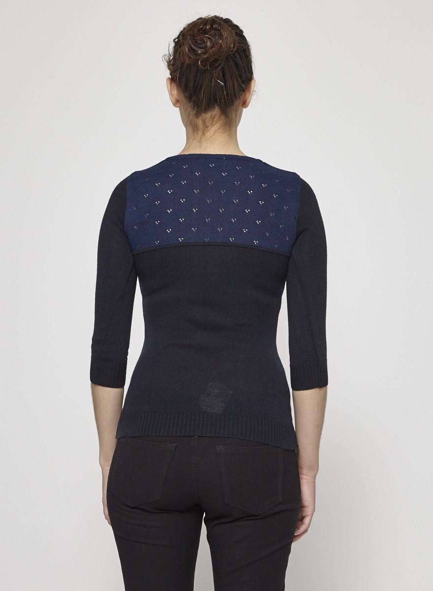 Betina Lou Peter-Pan Collar Knitted Sweater