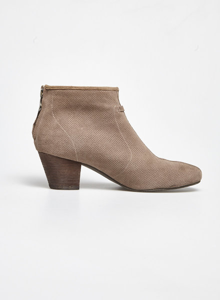 Artica TAUPE SUEDE EFFECT BOOTS
