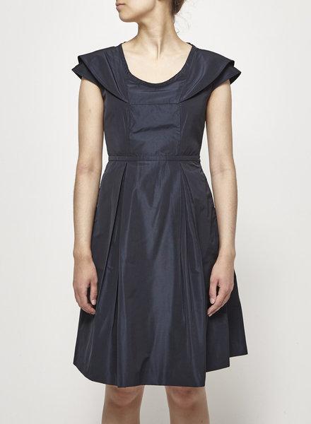 Miu Miu NAVY STRUCTURED DRESS