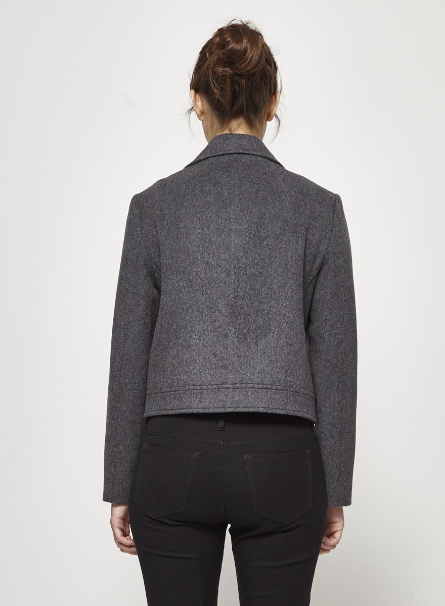 Judith & Charles Grey Wool Perfecto - New