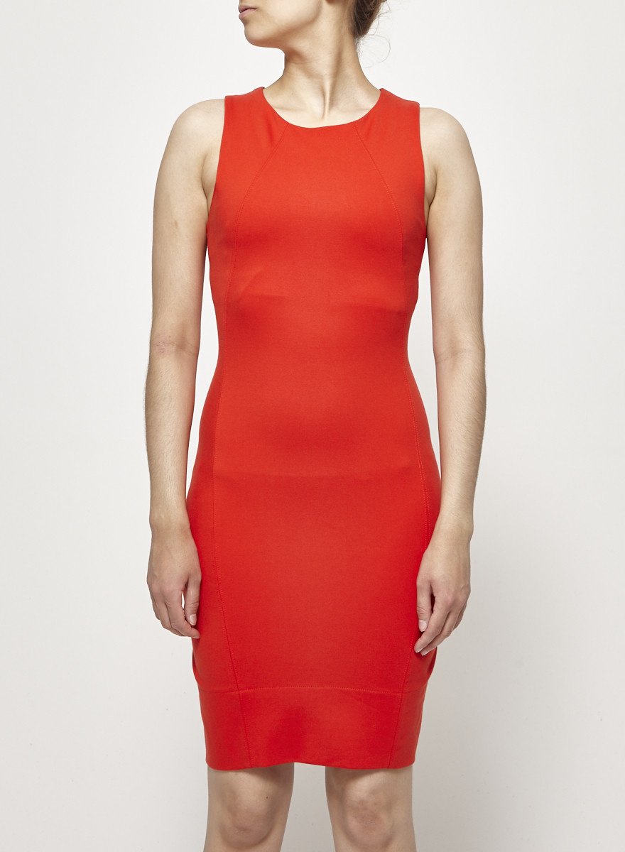 Babaton Scarlet Fitted Dress