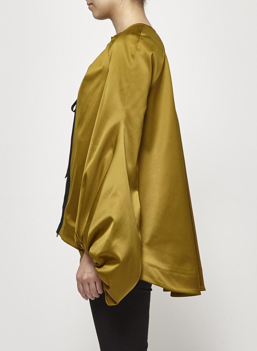 UNTTLD Oversized Sleeves Khaki Coat