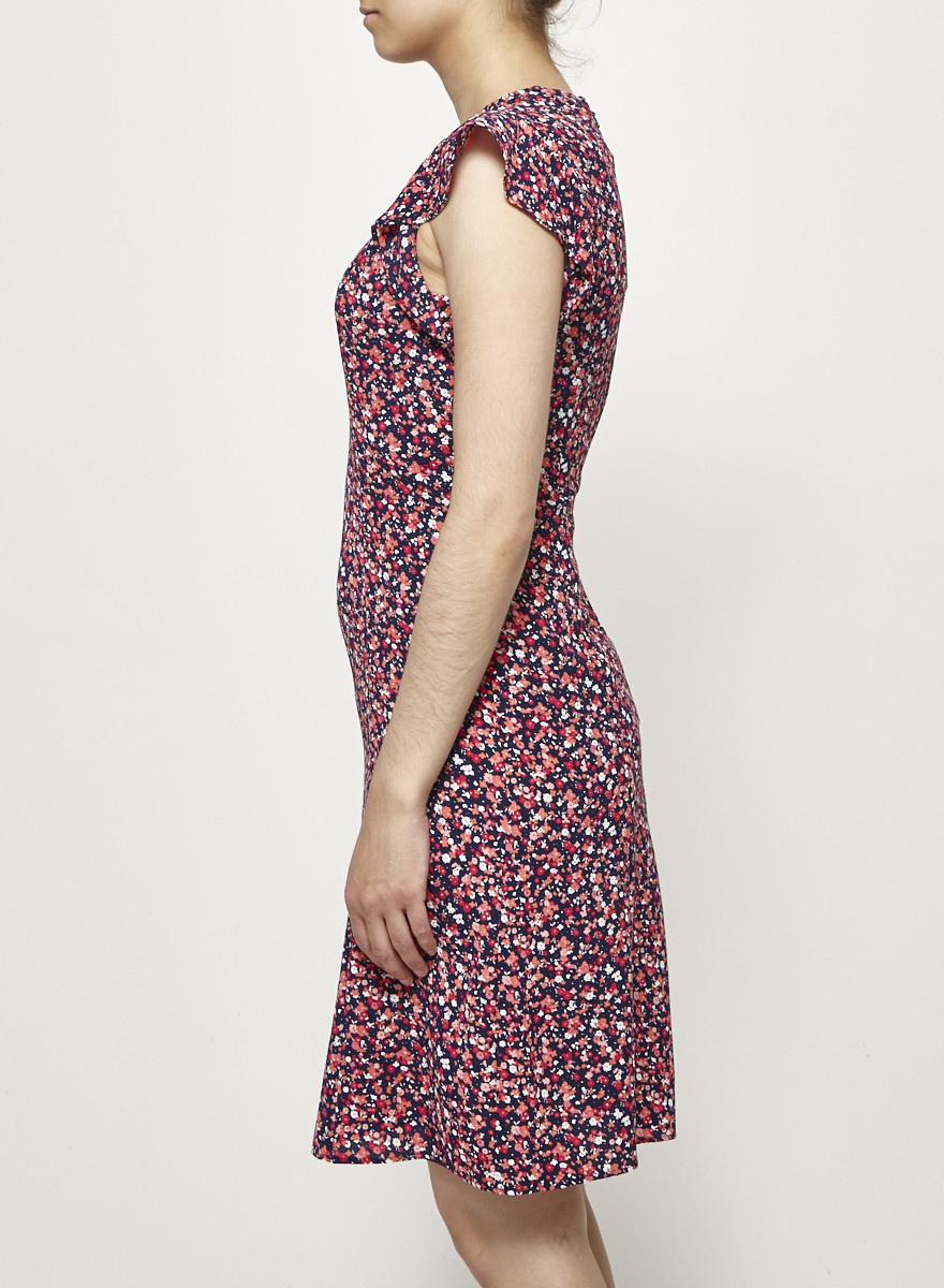 MICHAEL Michael Kors Floral-Print Ruffled Dress