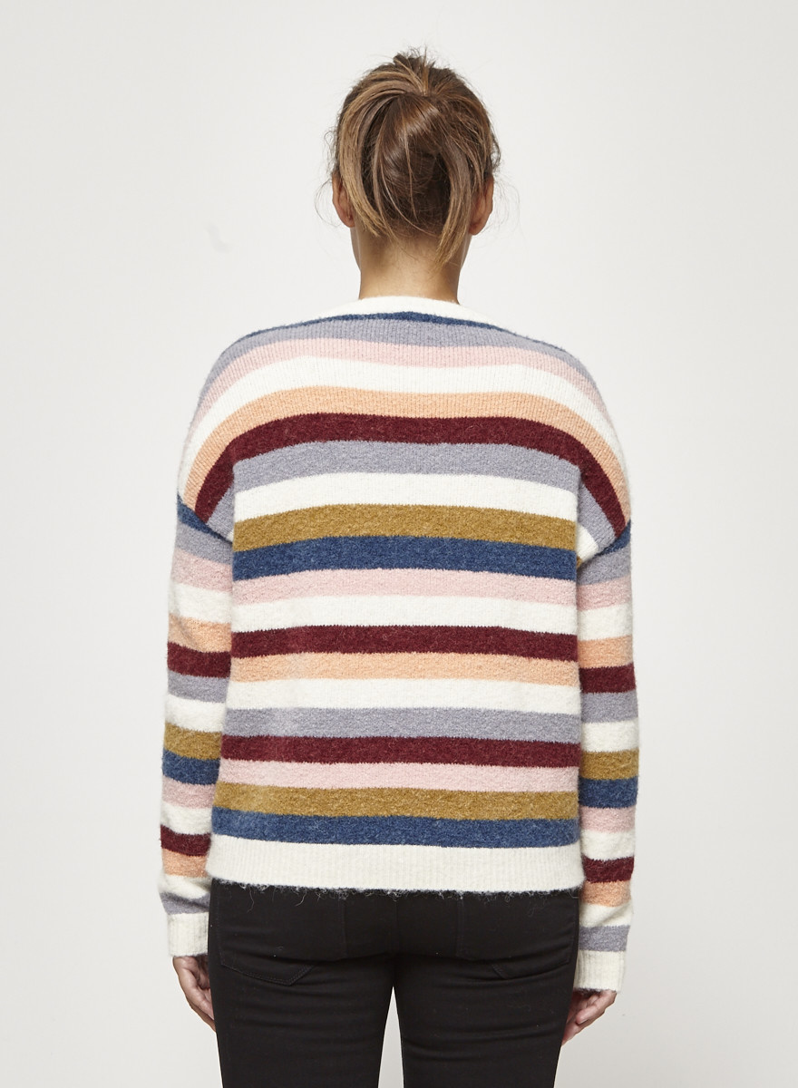 Rails Tira Sweater with Multicolored Stripes
