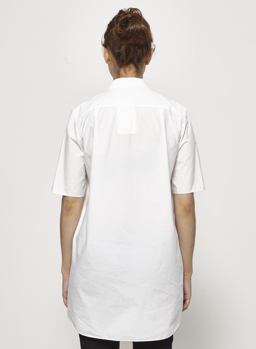 COS Chemise blanche structurée