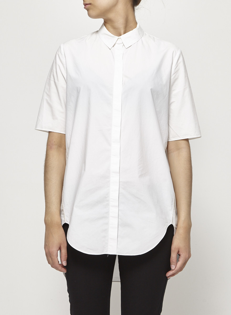 COS White Structured Shirt