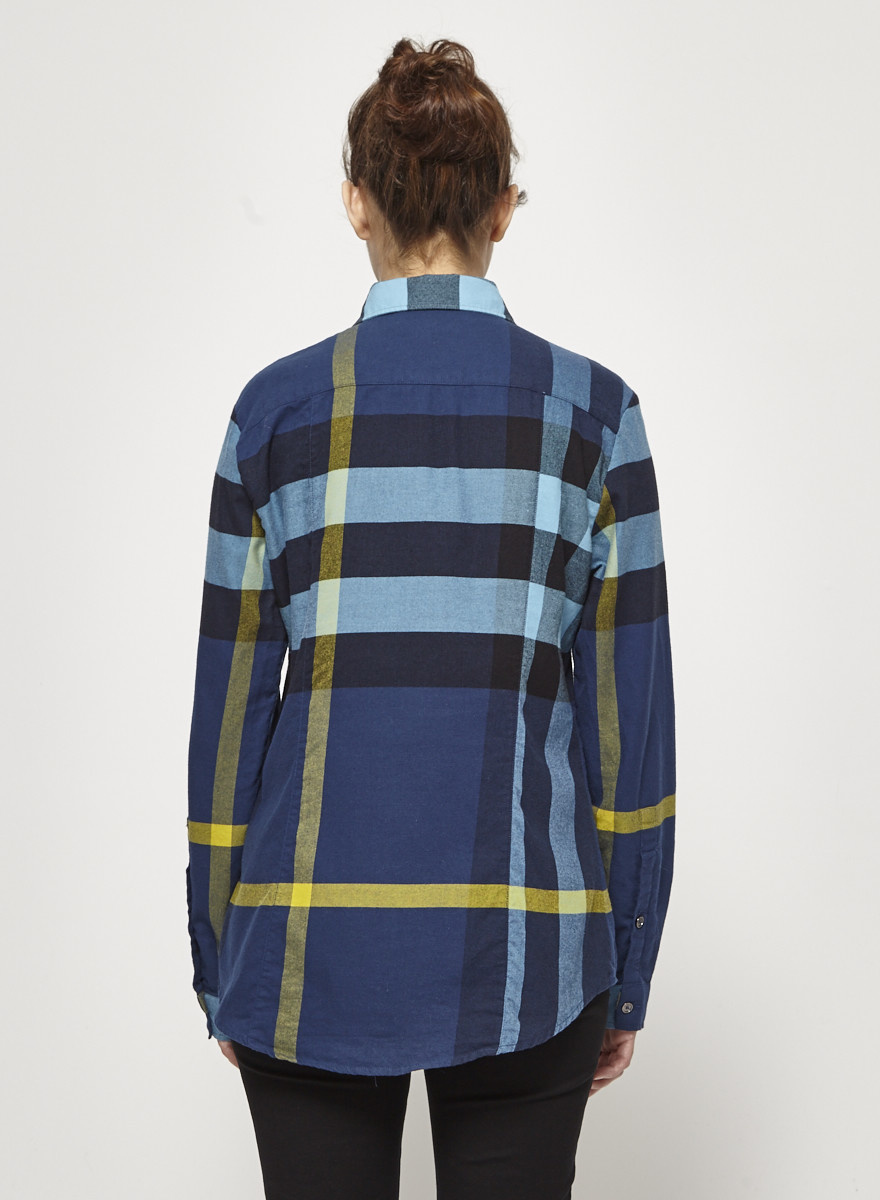 Burberry Brit Burberry Checked Cotton Shirt
