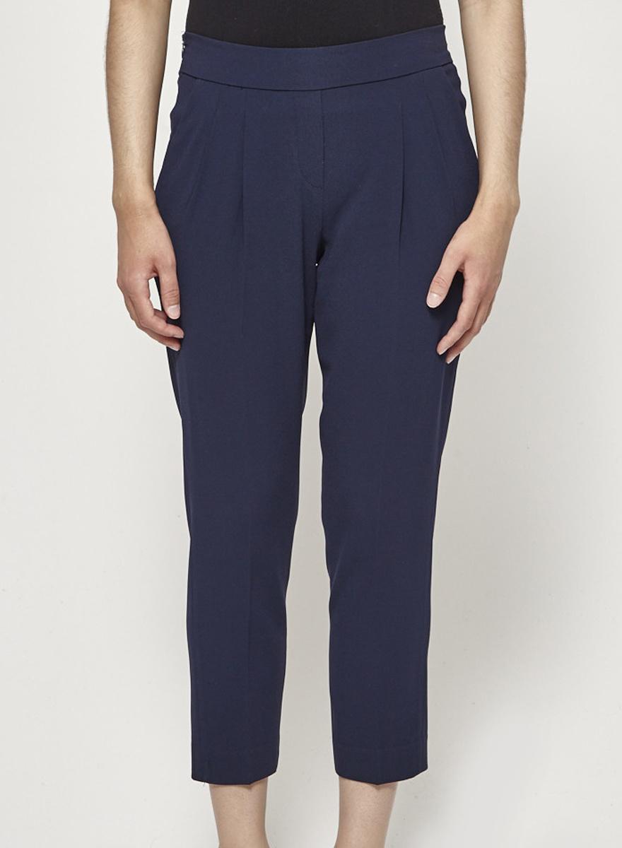 Babaton Structured Navy Pants