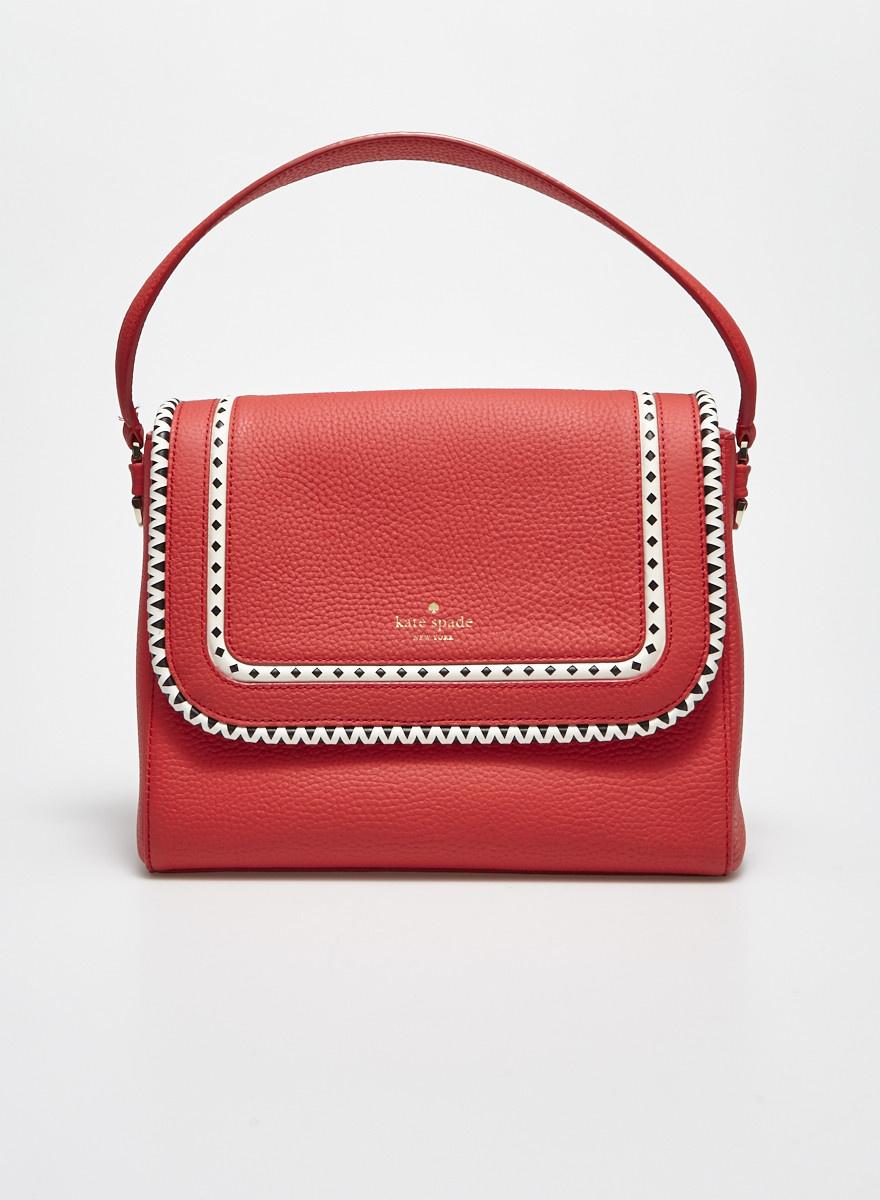 Kate Spade Bright Red Leather Handbag