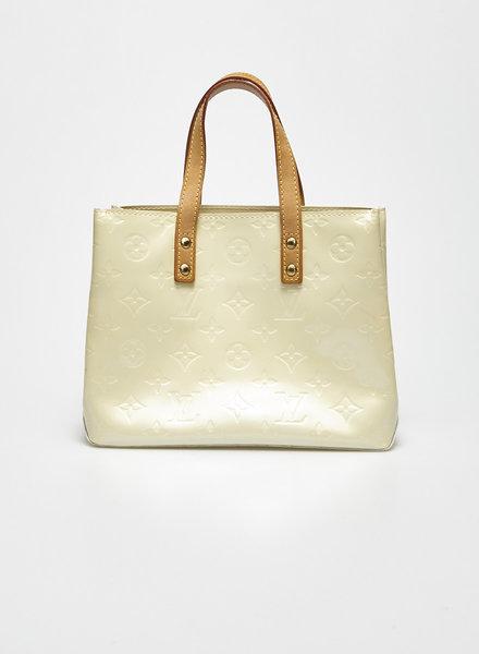 Louis Vuitton VERNIS READE SMALL MONOGRAM OFF-WHITE HANDBAG