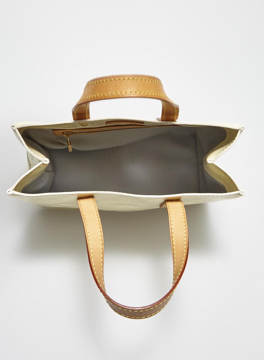 Louis Vuitton Petit sac à main crème monogramme