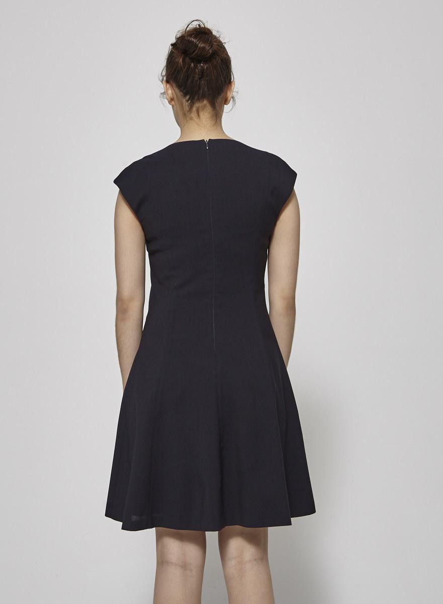 Theory Ballerina Dark Blue Dress