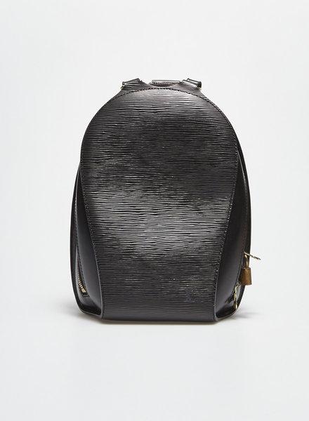 Louis Vuitton BLACK EPI LEATHER MABILLON BACKPACK BAG