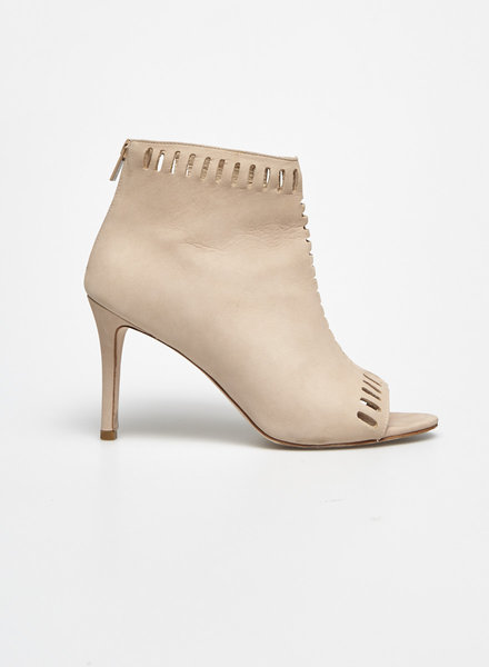 "Loeffler Randall NEW PRICE (WAS $120) - ""SLOANE"" SHELL LEATHER OPEN-TOE BOOTIE"