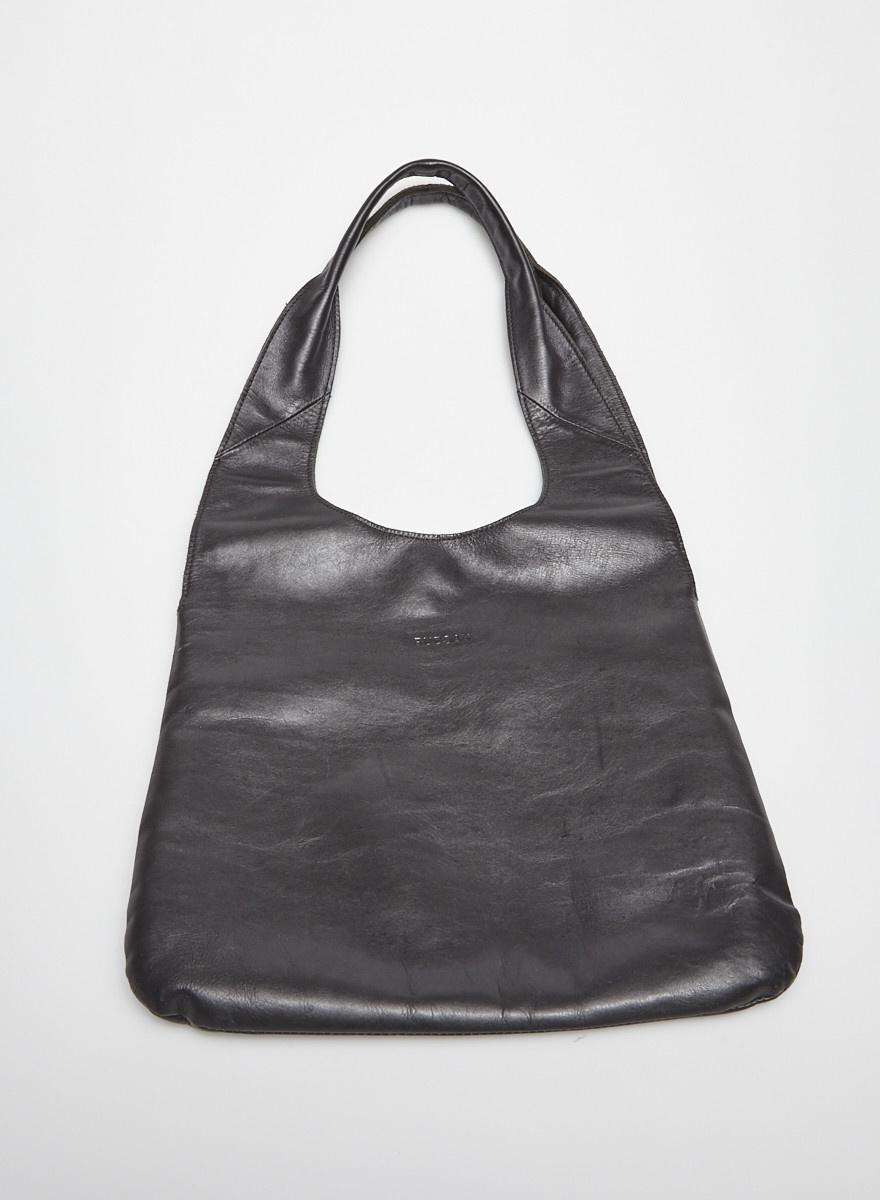 la meilleure attitude bac10 0d0be Cabas en cuir noir - RUDSAK