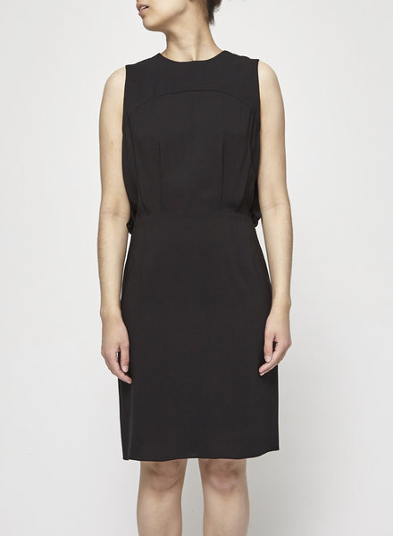 L'agence BLACK SLEEVELESS DRESS