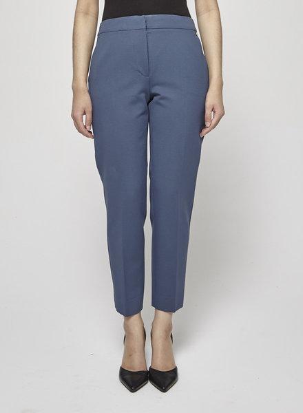 MaxMara BLUE STRAIGHT-LEG PANTS