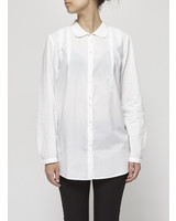 Cotélac LONG SLEEVE WHITE BLOUSE