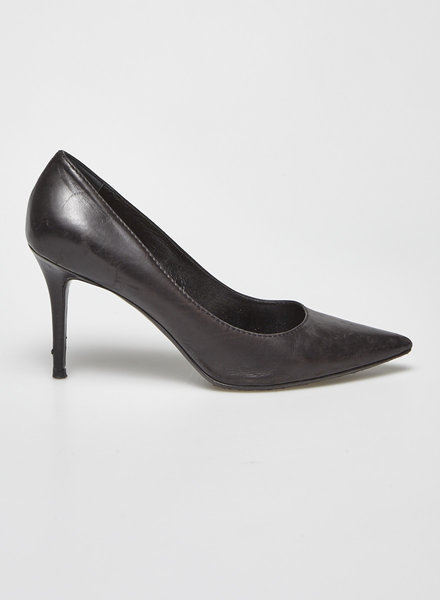 Acne Studios BLACK LEATHER PUMPS